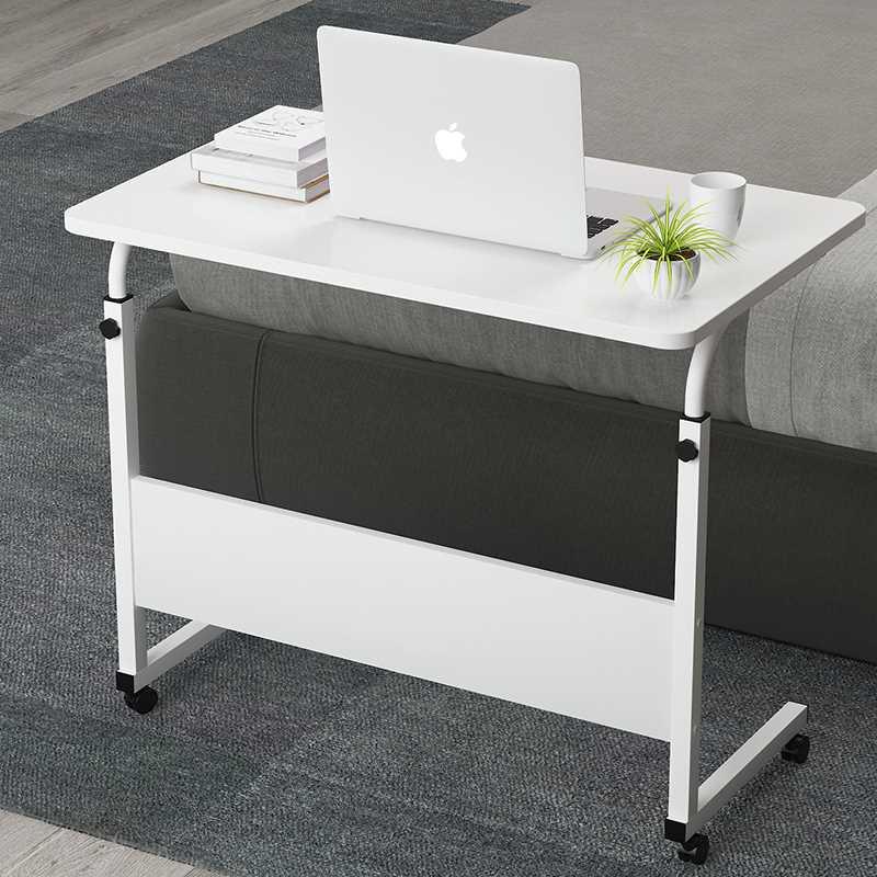 שולחן לפטופ דגם MARK 60/40 צבע לבן - תמונה 3