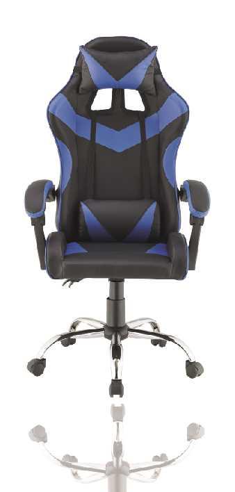 כסא גיימרים אורתופדי דגם PRO3 מבית NINJA EXTRIM שחור כחול - תמונה 4