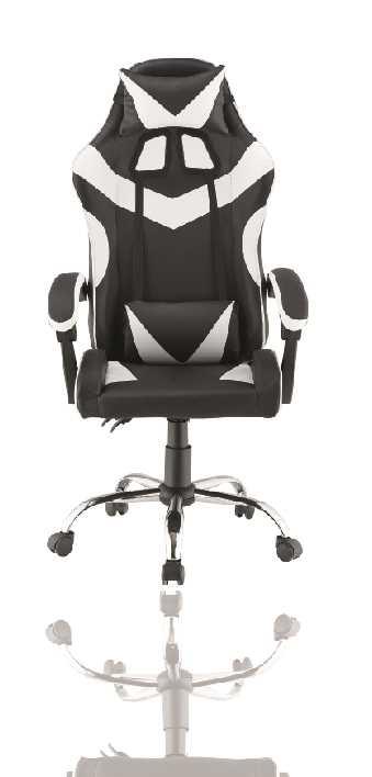 כסא גיימרים אורתופדי דגם PRO3-BW מבית NINJA EXTRIM - תמונה 4