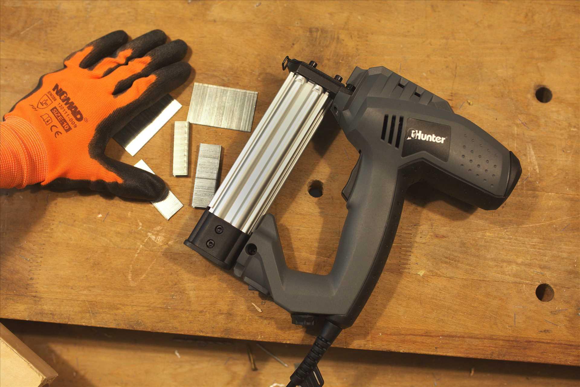 אקדח סיכות ו מסמרים חשמלי Hunter 102101-001 האנטר - תמונה 4