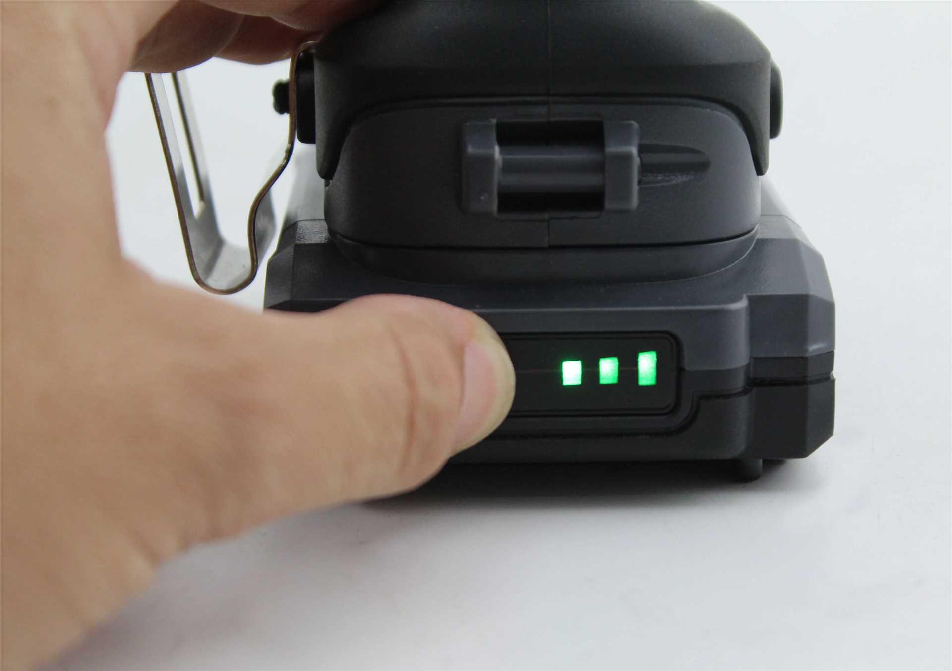 מברגה רוטטת קודחת ליתיום 1.5Ah 18V עם סוללה אחת 100311-007 Hunter האנטר - תמונה 2