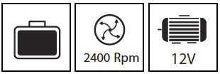 מברגת אימפקט ליתיום 12V עם  סוללה אחת Hunter 100312-006 האנטר - תמונה 5