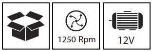 מברגת ליתיום 12V עם סוללה אחת - Hunter 100311-004 האנטר - תמונה 5