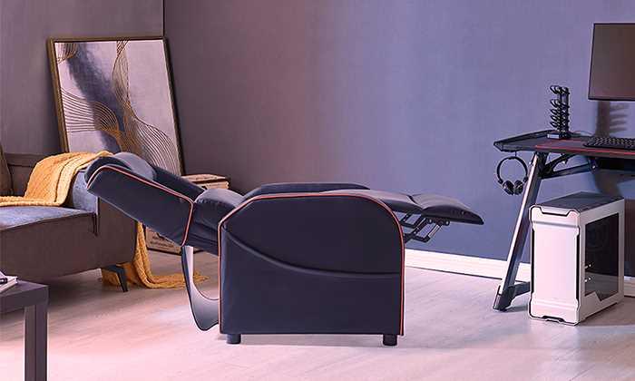 כורסת גיימרים מפוארת בעל עיצוב ייחודי לשחקני קונסולות ומובייל - תמונה 2