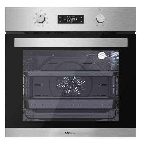 תנור בנוי מפואר 72 ליטר SOL HO6705 נירוסטה