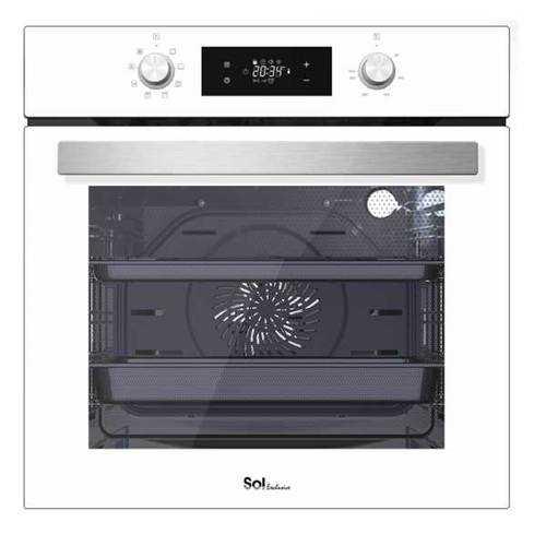 תנור בנוי מפואר 72 ליטר SOL HO6705W נירוסטה