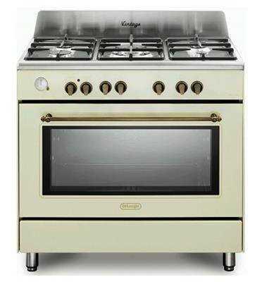 תנור משולב כיריים 5 להבות Delonghi NDS952AV דה לונגי