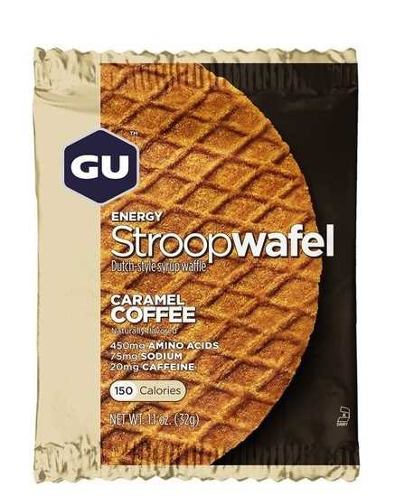 מארז 16 יחידות שטרופוואפל GU בטעם קרמל קפה Stroopwafel Caramel Coffee
