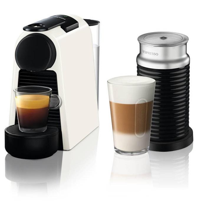 מכונת אספרסו Essenza Mini D30 כולל מקציף צבע לבן Nespresso נספרסו