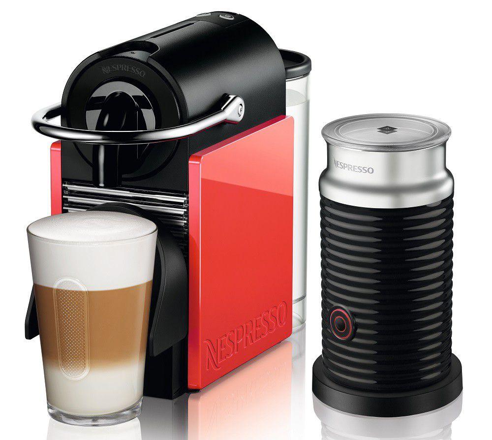 מכונת אספרסו Pixie Clips D60 כולל מקציף Nespresso נספרסו