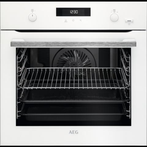 תנור בנוי פירוליטי 71 ליטר לבן AEG BPE255632W אאג