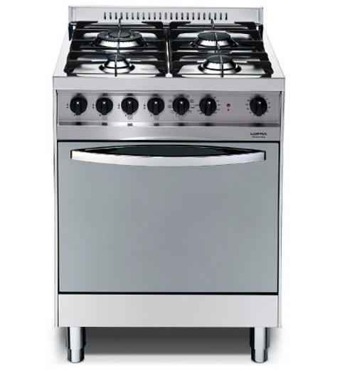 תנור נירוסטה משולב כיריים Lofra MS66MF לופרה