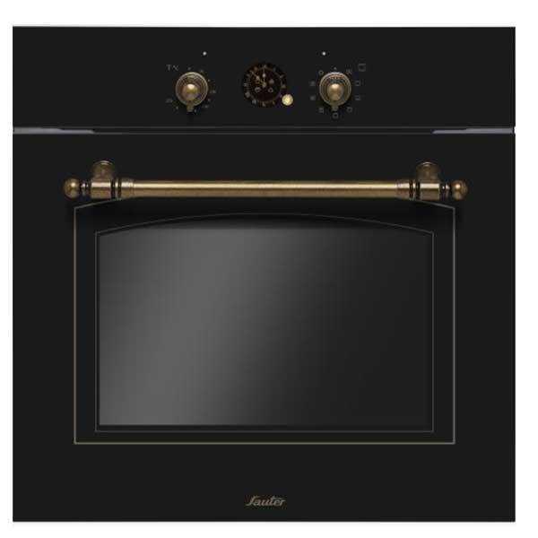 תנור בנוי כפרי Sauter RUSTIC 4000B שחור סאוטר