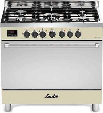 תנור משולב כיריים Sauter SBC9025CR סאוטר