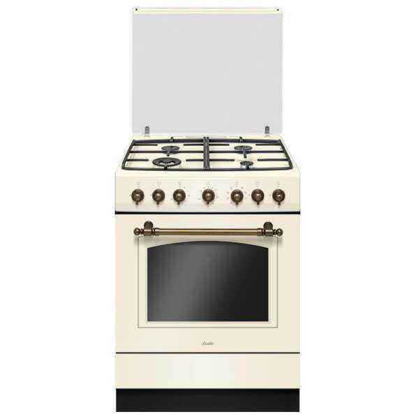 תנור משולב כפרי Sauter RUSTIC 7000C קרם סאוטר