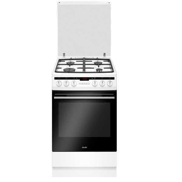 תנור משולב צר לבן Sauter ELEGANT 3650W סאוטר