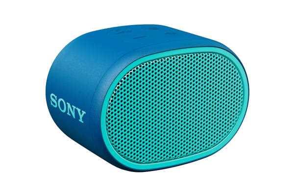 רמקול נייד כחול Sony SRS-XB01L סוני