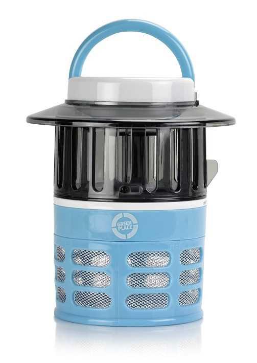 קטלן יתושים חשמלי לחדרי ילדים הוריקן ג'וניור כחול Green Place