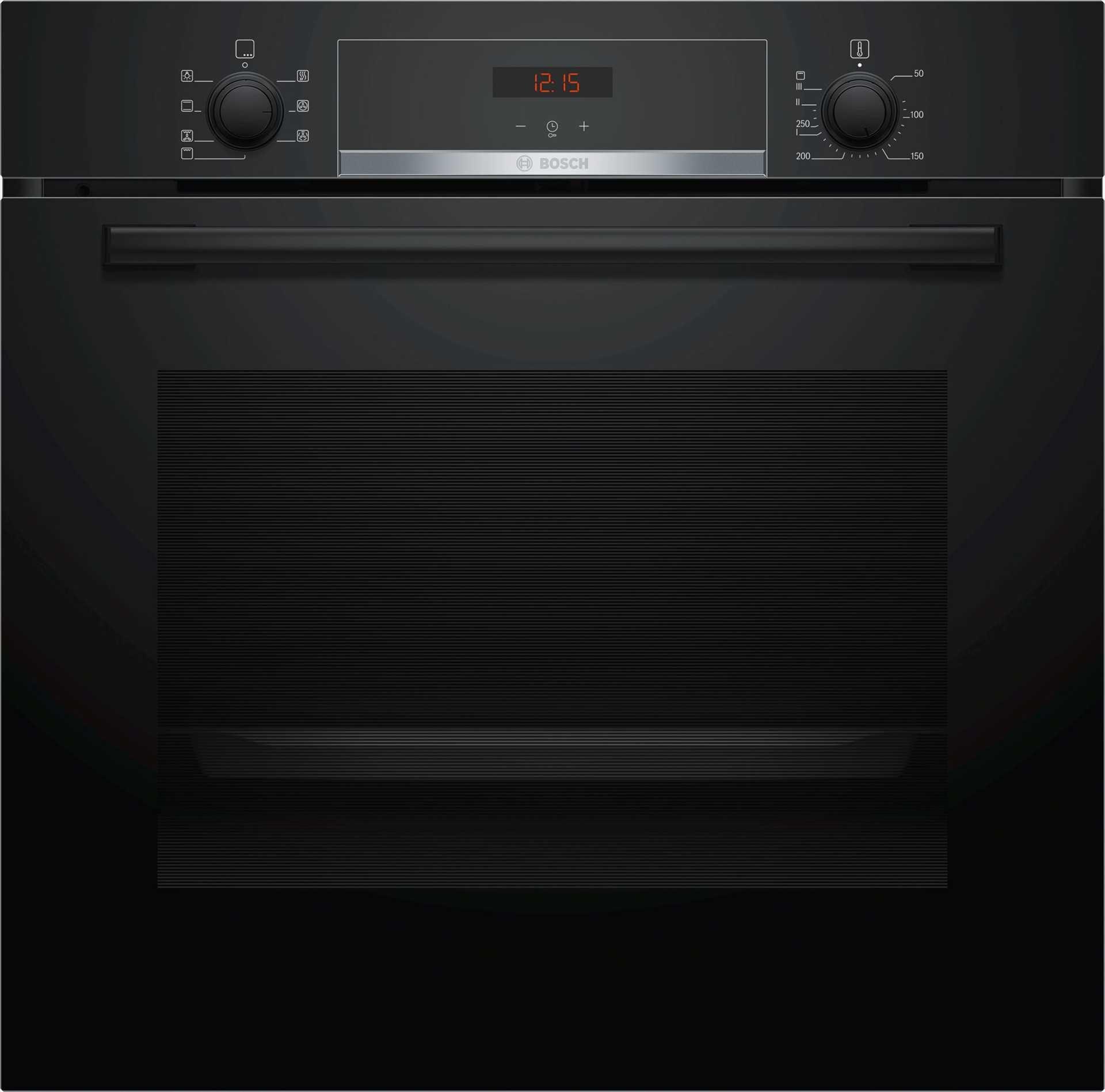תנור בנוי 71 ליטר Bosch HBG533BB0Y שחור בוש