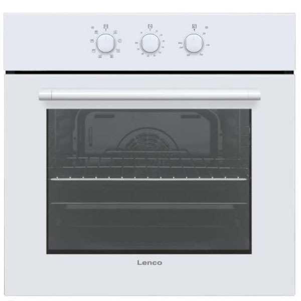 תנור בנוי מכני Lenco LBI-M65VWH לבן לנקו