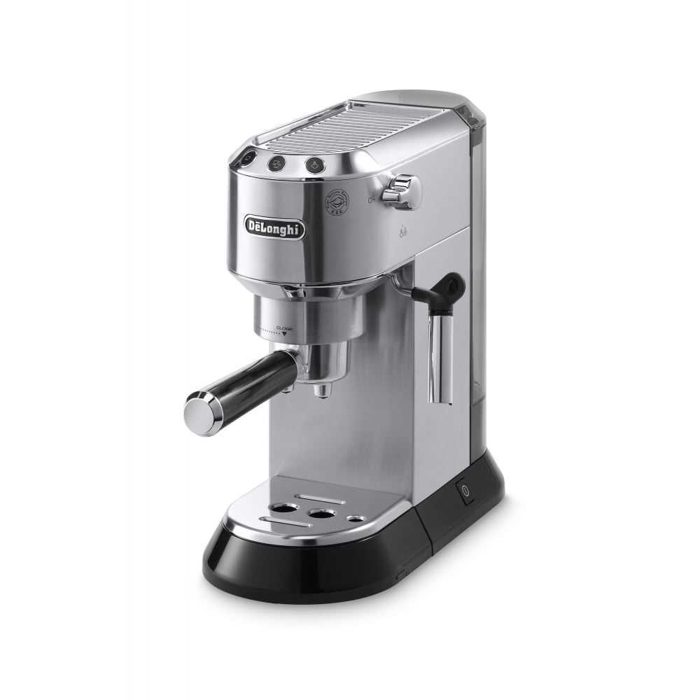מכונת קפה דלונגי אספרסו ידנית Delonghi DEDICA EC 685 נירוסטה