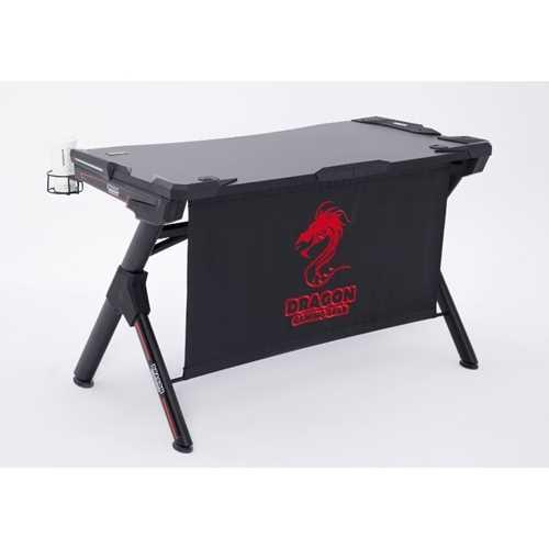 שולחן גיימינג מקצועי שחור אדום דגם GPDRA-T1