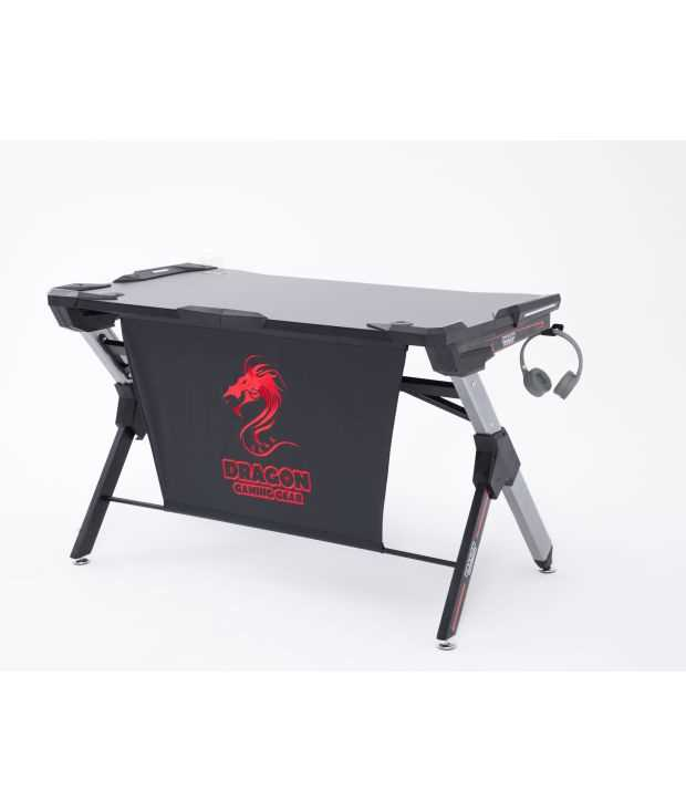 שולחן גיימינג מקצועי שחור אדום דגם GPDRA-T9