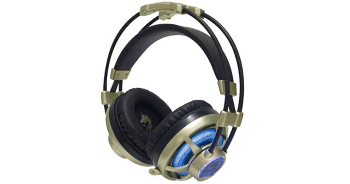 אוזניות גיימינג X-Pro זהב דגם GPDRA-XPROGO