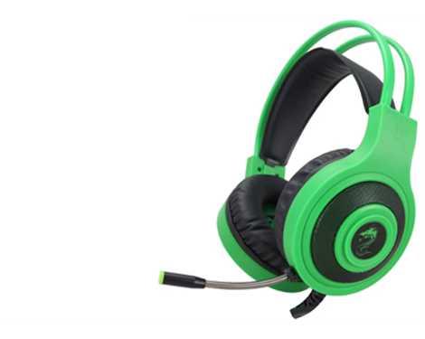 אוזניות גיימינג דגם 800 צבע ירוק GPDRA-800XB