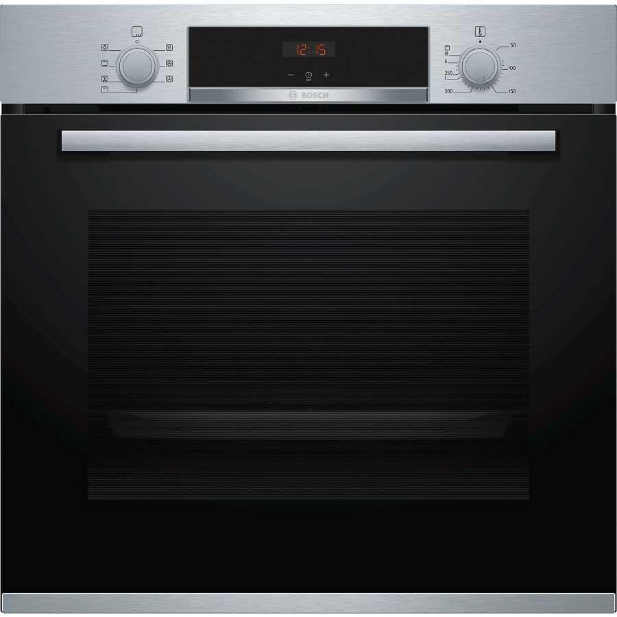 תנור בנוי 71 ליטר Bosch HBG533BS0Y נירוסטה בוש