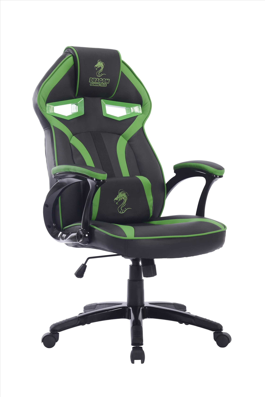 כיסא גיימנג Dragon ULTRA GAMING CHAIR שחור ירוק