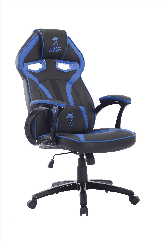 כיסא גיימנג Dragon ULTRA GAMING CHAIR כחול שחור