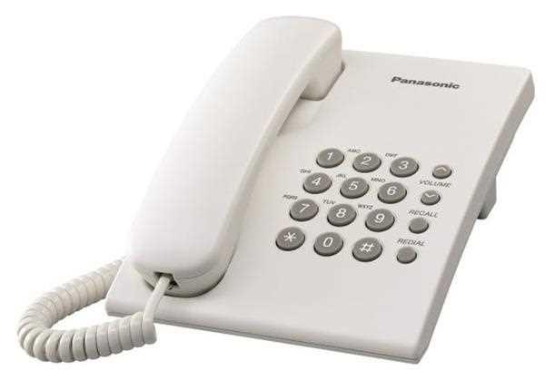 Panasonic KXTS500MXW פנסוניק