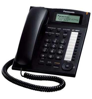 טלפון שולחני Panasonic KX-TS880MXB פנסוניק