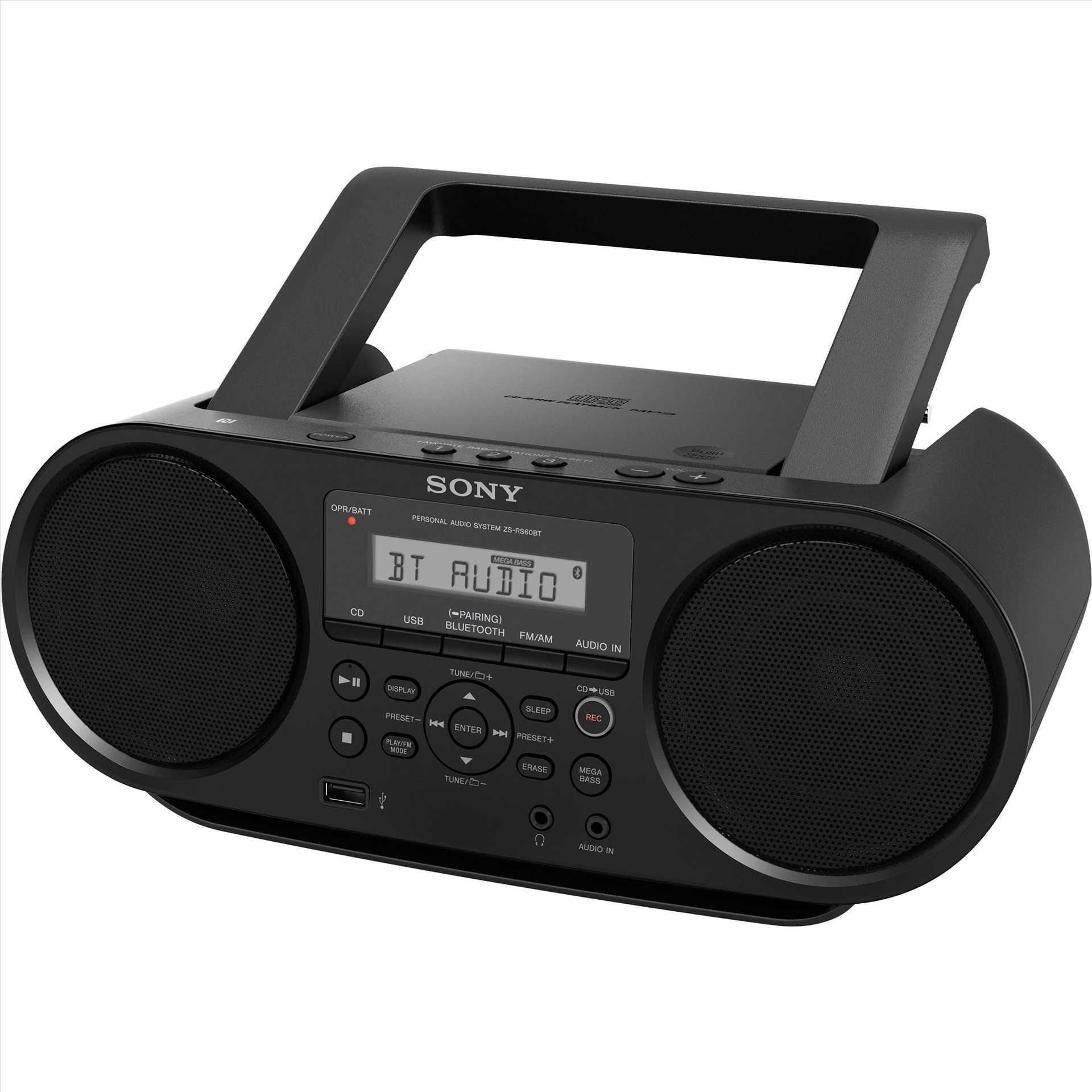 מערכת שמע ניידת Sony ZSRS60BT סוני