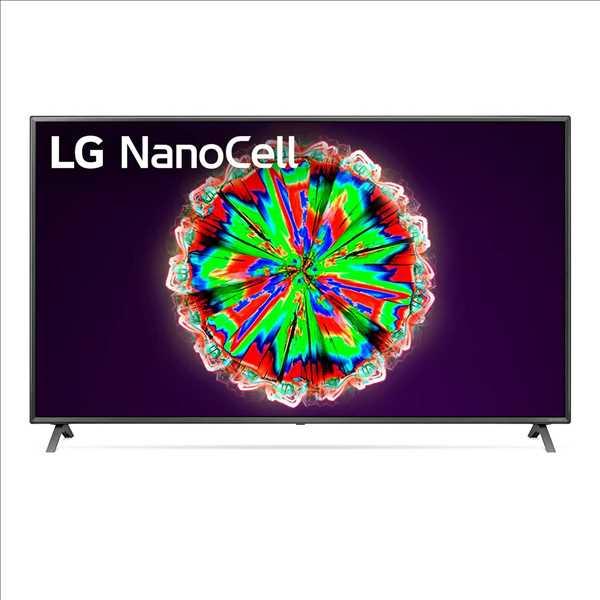 """טלוויזיה בגודל 65"""" דגם LG SMART 4K LED 65NANO79 אל ג'י"""