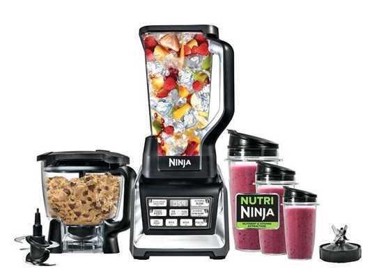 מעבד מזון Ninja BL682 Auto IQ 3 IN 1 נינג'ה