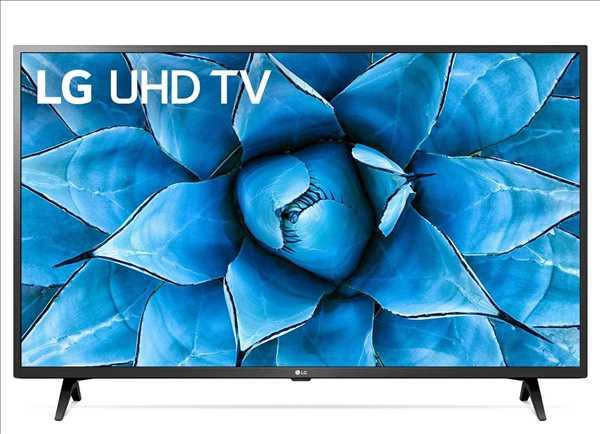 """טלוויזיה חכמה """"55 דגם 55UN7240 פאנל IPS 4K Ultra HD ובינה מלאכותית LG"""