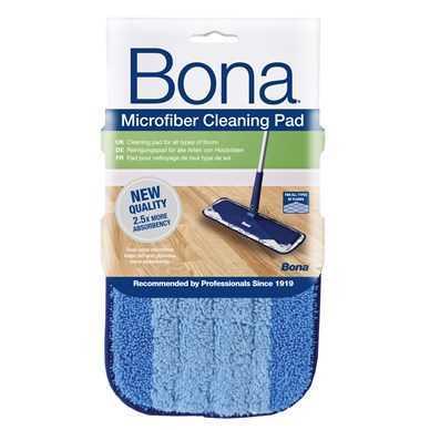 פד מיקרופייבר BONA כחול לניקוי