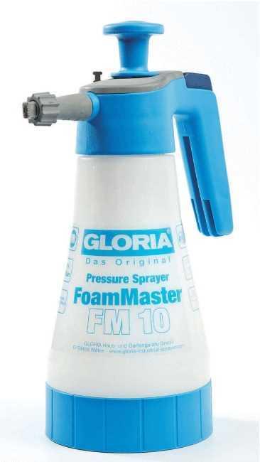 מרסס לחץ ידני 1 ליטר עוצמתי לניקוי בקצף Gloria