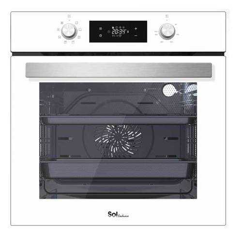 תנור בנוי מפואר 72 ליטר SOL HO6705W לבן