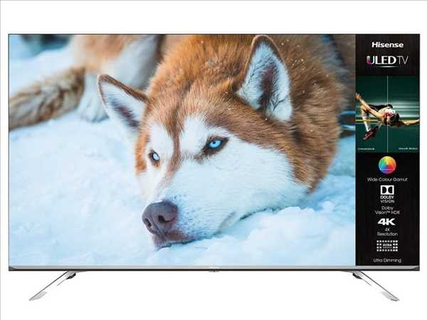 """טלוויזיה """"Hisense ULED Smart 4K 55U7WFIL 55 הייסנס"""