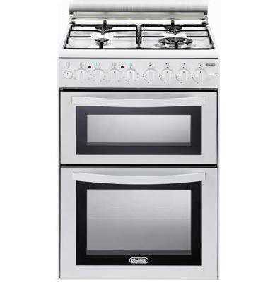 תנור משולב כיריים NDS1218W לבן Delonghi דה לונגי