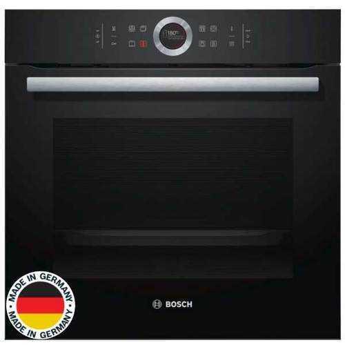 תנור בנוי פירוליטי שחור 71 ליטר Bosch HBG675BB1 בוש