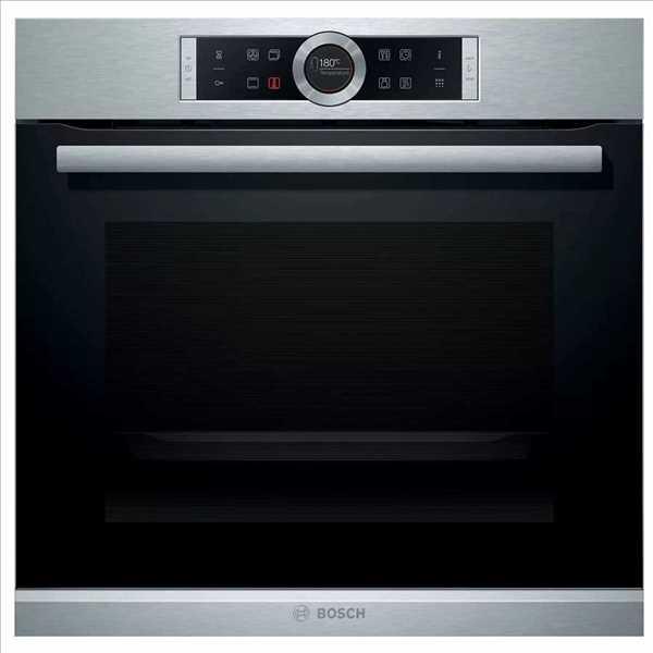 תנור בנוי פירוליטי נירוסטה 71 ליטר Bosch HBG675BS2 בוש