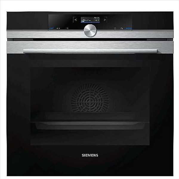 תנור בנוי 71 ליטר פירוליטי שחור נירוסטה Siemens HB675G0S1 סימנס