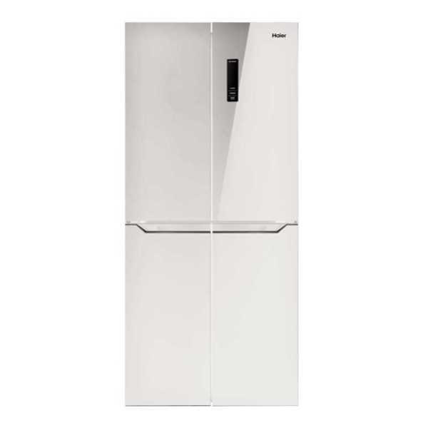 מקרר 4 דלתות 401 ליטר זכוכית לבנה Haier HRF4482FW האייר