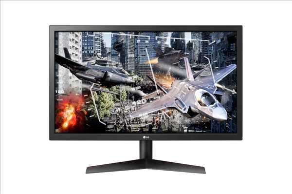 מסך מחשב 24 אינץ' מקצועי LG 24GL600F אל ג'י