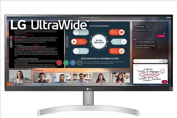 מסך מחשב מקצועי 29 אינטש LG 29WN600W אל ג'י