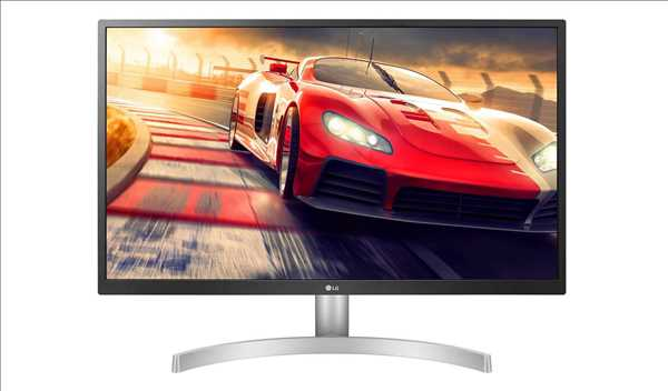 מסך מחשב 27 אינטש 4K מקצועי LG 27UL500-W אל ג'י